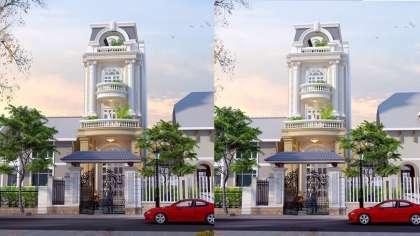 Động lòng với thiết kế nhà phố 5x20 tân cổ đẹp nhất Hà Nội