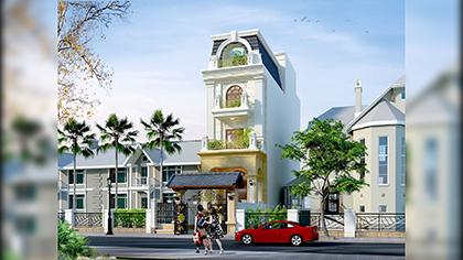 Mê tít thiết kế nhà phố nhỏ đẹp kết hợp nội thất thông minh