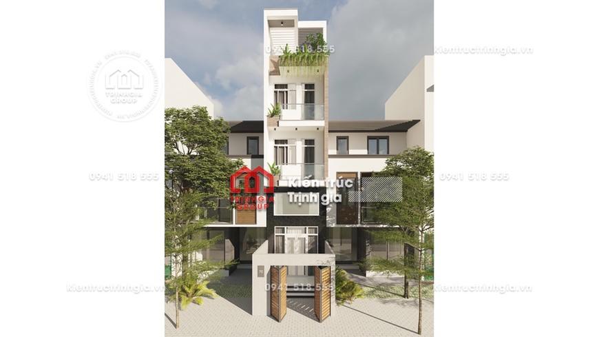 Thiết kế nhà phố 50m2 đẹp 4 tầng cho đại gia đình 3 thế hệ!
