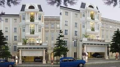 Hút mắt người nhìn với thiết kế nhà phố 7x10m tân cổ điển!