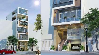 Mãn nhãn với mẫu thiết kế nhà phố có tầng hầm đẹp, hiện đại!