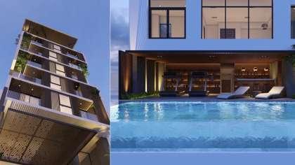 Mẫu thiết kế nhà phố kết hợp kinh doanh khách sạn cao cấp!