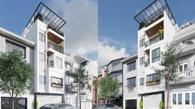 Đừng bỏ qua mẫu thiết kế nhà phố 5x20 5 tầng có sân thượng