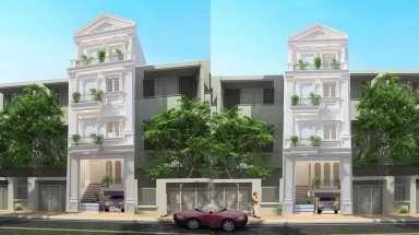 Ngắm mãi không chán mẫu thiết kế nhà phố 5x15m tân cổ điển