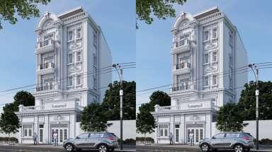 Kinh doanh khách sạn cao cấp trong với thiết kế nhà phố 80m2