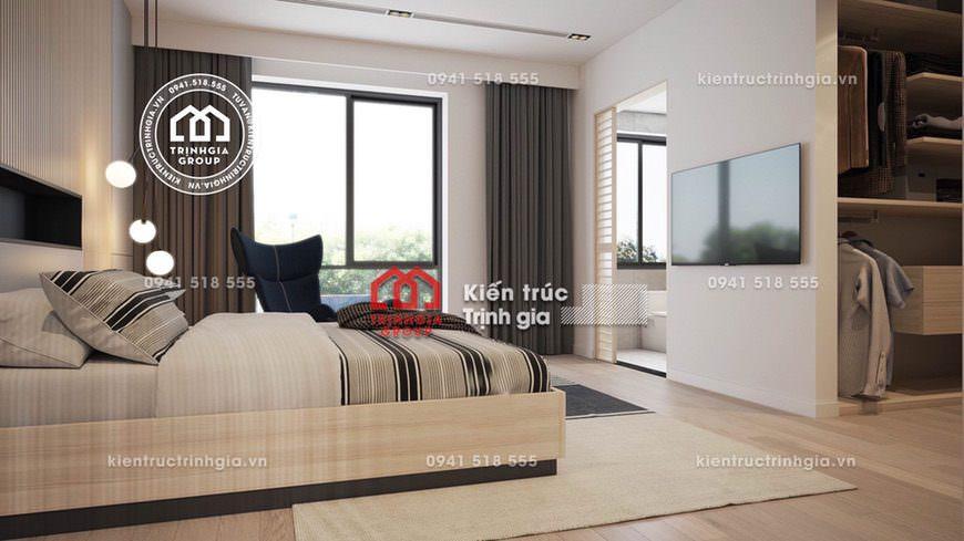 Bản vẽ mẫu thiết kế nội thất nhà biệt thự hiện đại đẹp