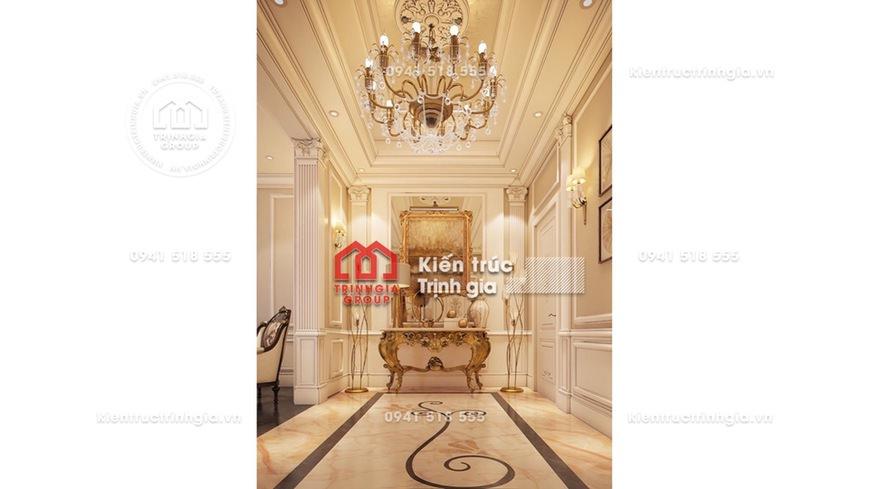 Thiết kế nội thất lâu đài, biệt thự lâu đài sang trọng nhất