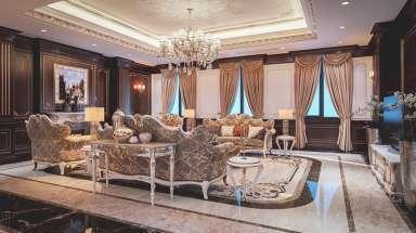 Nội thất biệt thự - nội thất lâu đài cổ điển siêu sang trọng