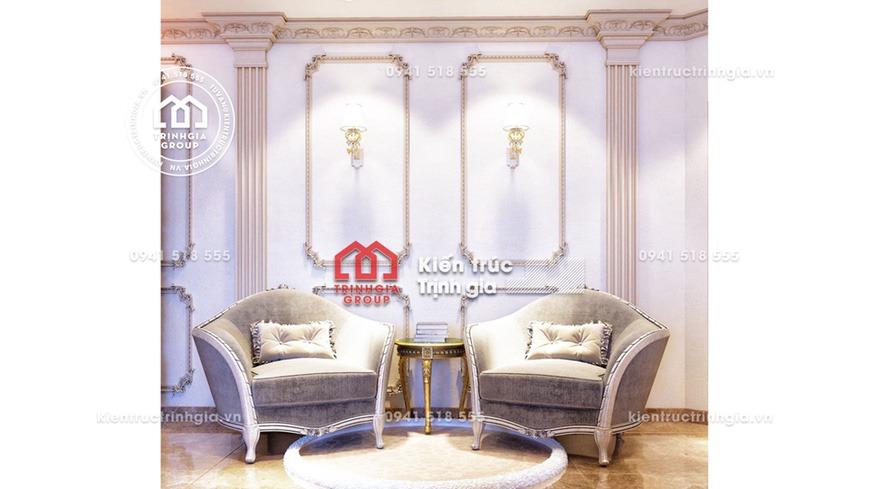 Thiết kế nội thất lâu đài kiến trúc Pháp cổ điển sang trọng