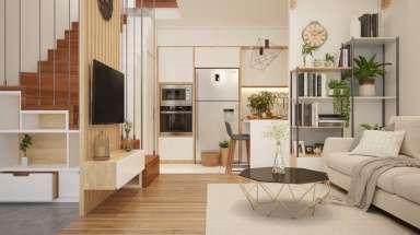Mẫu thiết kế nội thất hiện đại dành cho nhà phố ở Ninh Bình