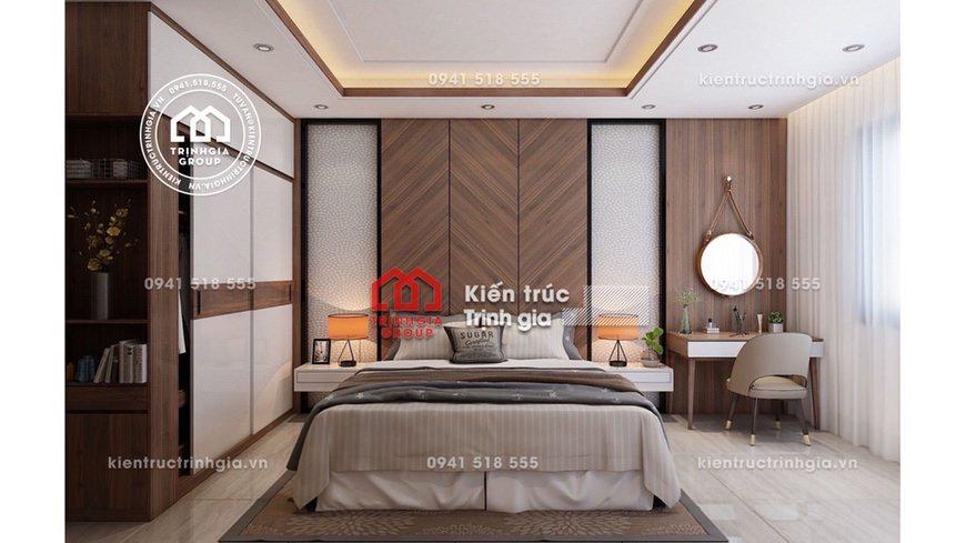 Thiết kế nội thất nhà phố hiện đại đẹp giá rẻ ở Bắc Ninh