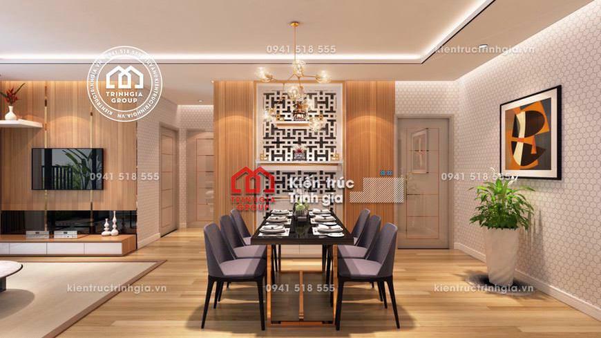 Mẫu thiết kế nội thất căn hộ 90m2 phòng ngủ 2 con sinh đôi