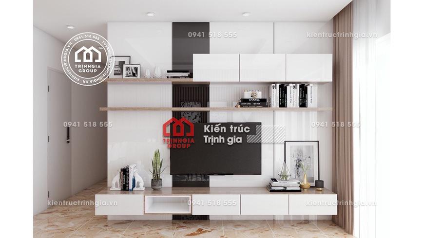 Thiết kế nội thất chung cư hiện đại với khi phí 300 triệu