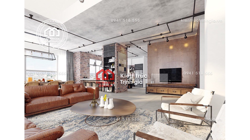 Thiết kế nội thất nhà ở hiện đại - Sự lụa chọn thông minh