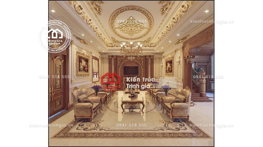 Mẫu thiết kế nội thất chung cư HH Linh Đàm sang trọng nhất