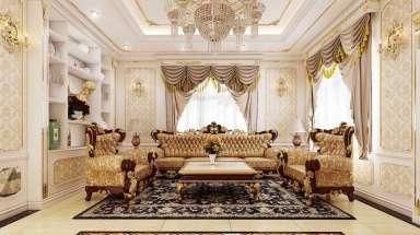 Thiết kế nội thất chung cư tân cổ điển kiểu Pháp đẹp nhất