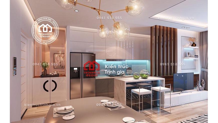 Thiết kế nội thất chung cư đơn giản giá rẻ và đẹp ở Hà Nội