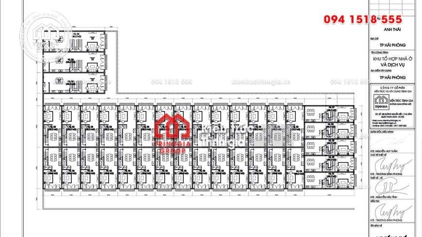 Shophouse - Thiết kế nhà ở kết hợp mẫu văn phòng cho thuê